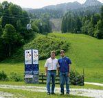 Jahrhundertprojekt zur Ski-WM in Garmisch-Partenkirchen 2011