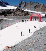 Der IDE All Weather Snowmaker auf dem Pitztaler Gletscher: Hans, da hast Du eine gute Idee gehabt!