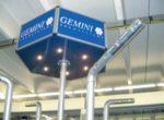 Neue Aeros von Gemini schneit bei 0° C