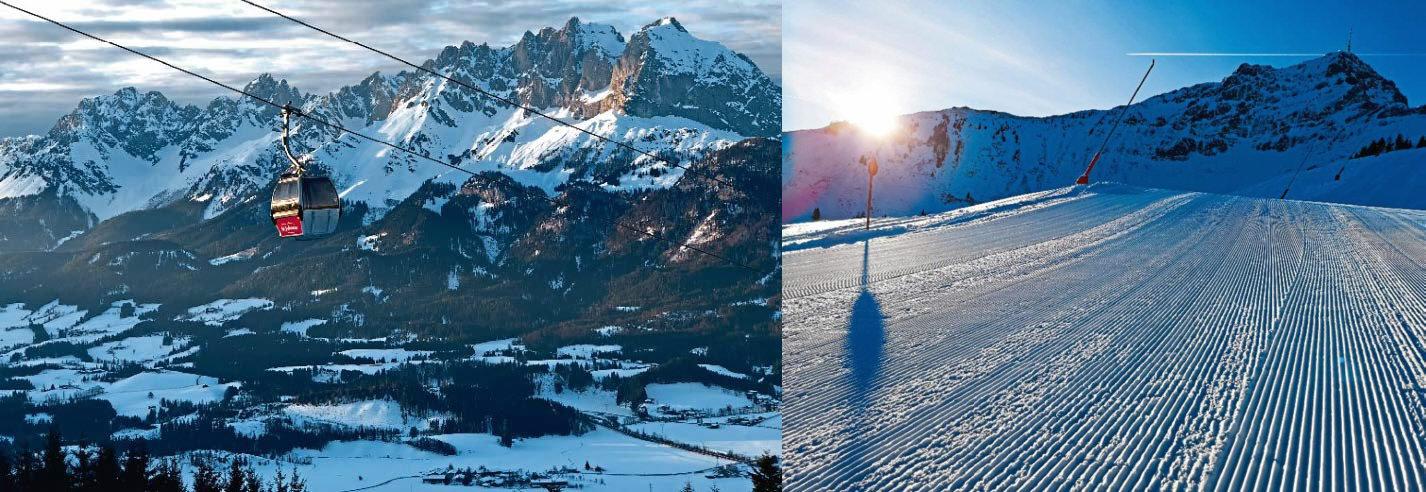 SkiStar St. Johann hat in den letzten Jahren rund 25 Mio. Euro in die Infrastruktur investiert. Foto: SkiStar St. Johann
