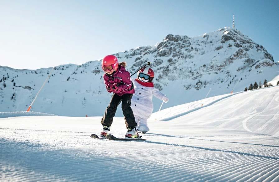 SkiStar St. Johann hat sein Angebot auf Familien ausgerichtet. Foto: Mirja Geh