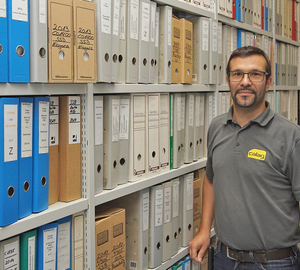 Domenico Condello im Gangloff-Archiv