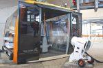 Von der Beschneiung zur Desinfektion: DEMACLENKO desinfiziert Kabinenbahnen