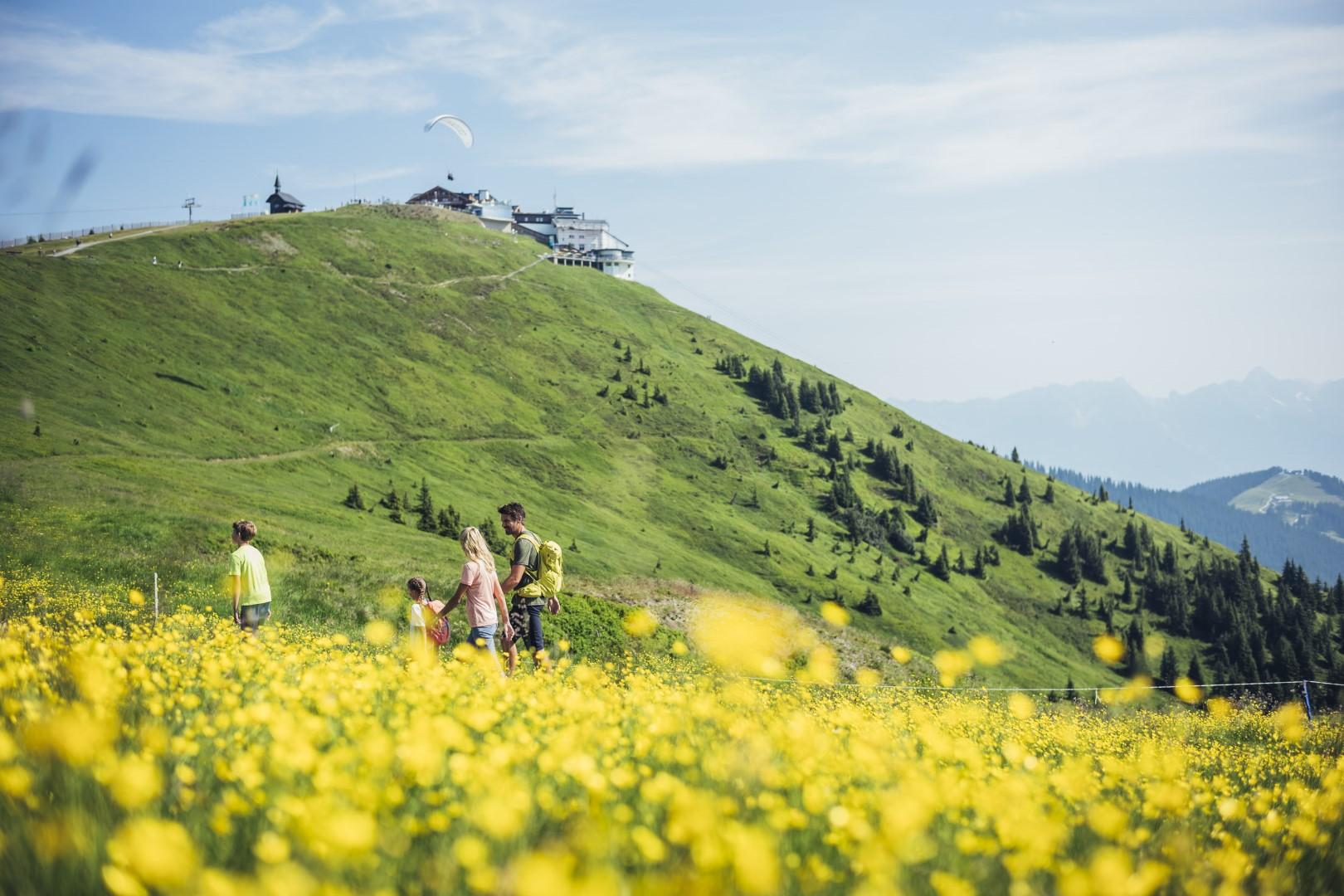 Der Sommer macht am Berg immer mehr Spaß © Schmittenhöhebahn