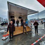 COVID-Test-Station für Wintersportler von KitzSki