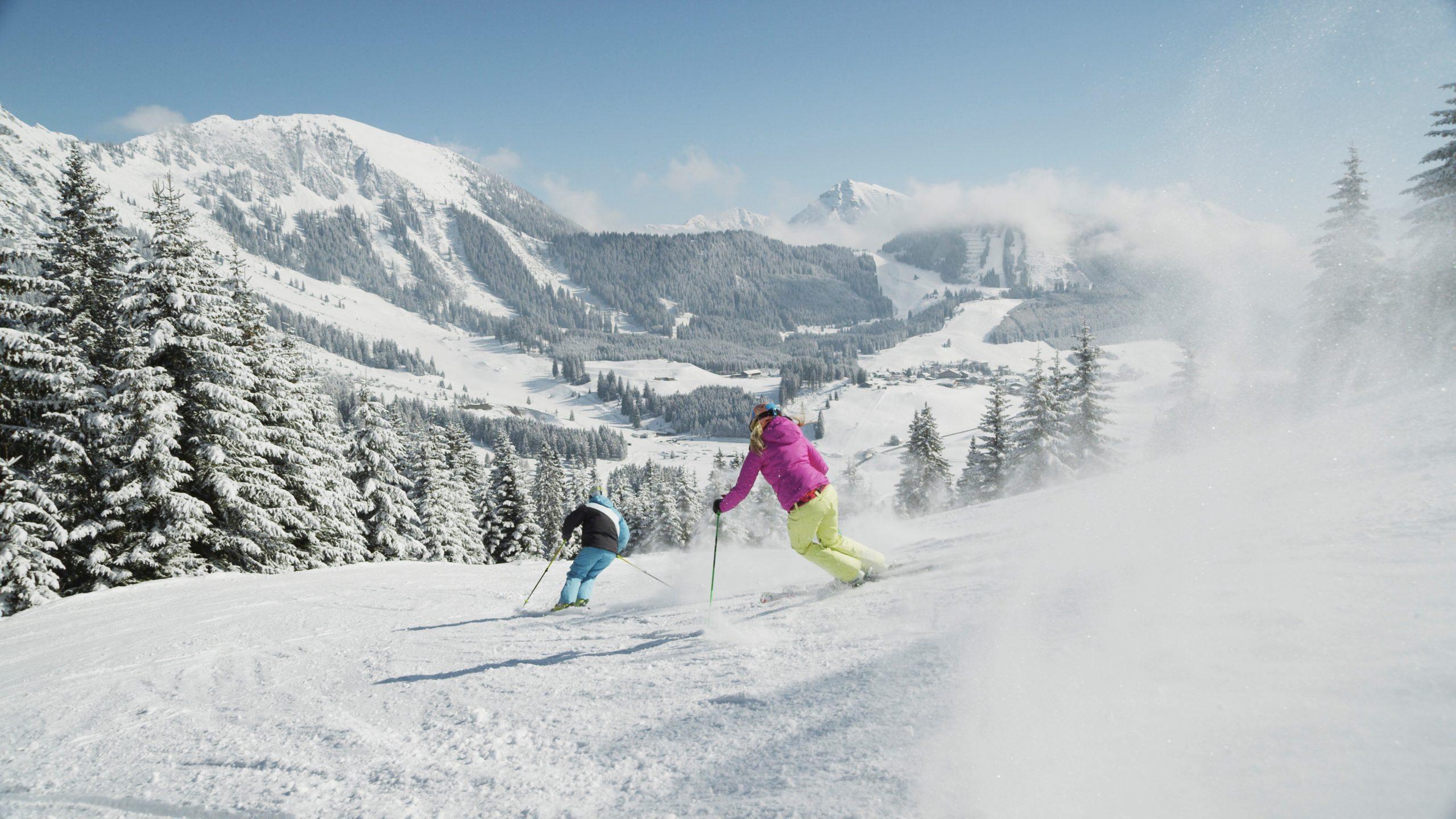 Die Skiarena Berwang bietet ihren Gästen 36 km Pisten in allen Schwierigkeitsgraden.